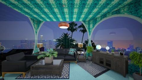 CircleRoomII - Modern - Living room - by lori gilluly