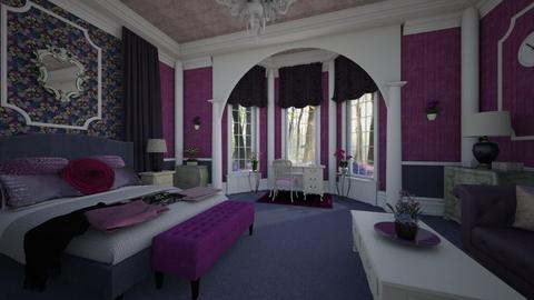 Wildflower Bedroom - Classic - Bedroom - by Pirschjaeger
