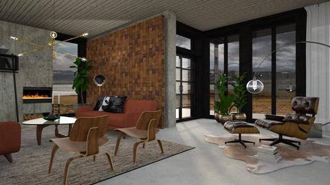 MCM - Modern - Living room - by evahassing