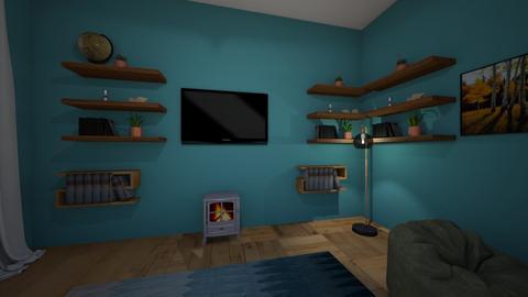Living room 2 - Modern - Living room - by hollyannahamp