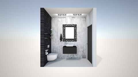 baie jos - Bathroom - by georgianaconstantin