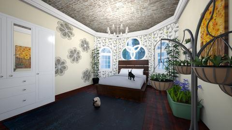 Wildflowers - Bedroom - by megan mccauley