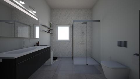 Sonia - Bathroom - by saioamerillas