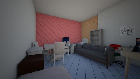 series room - by Maria Jose y alex