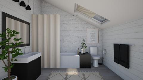 attic - Bathroom - by Kelli Mallory