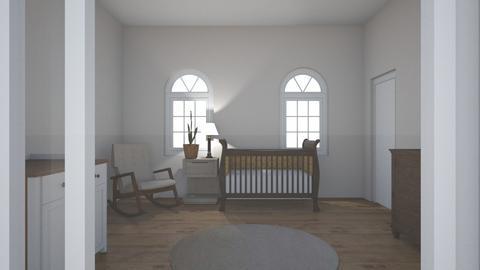baby nursery - Kids room - by katecofer