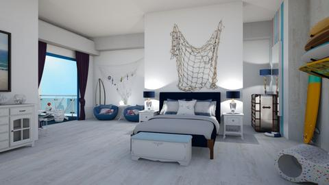 SEA - Bedroom - by matina1976