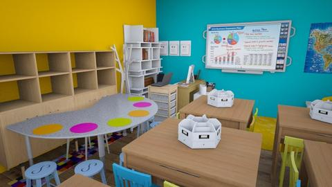 Classroom - by Jazrel Mae Navales