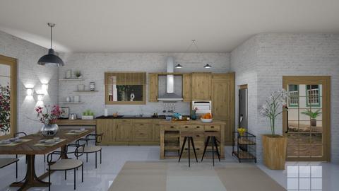 IP artisan kitchen - by Themis Aline Calcavecchia