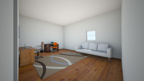 blue room plan - Office - by discodancerz