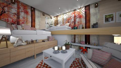 para dos - Bedroom - by ana111