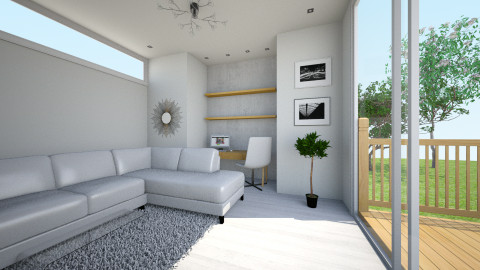 home office - by MahdiyyaW