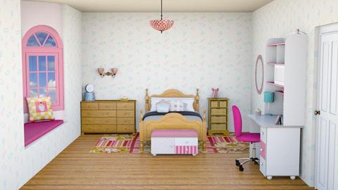 Sweet Bedroom - Feminine - Bedroom - by Psweets