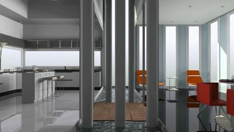 net - Modern - Kitchen - by facundo