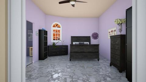 dormitorio - Bedroom - by Kristal McFadden