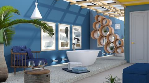 M_ A little different - Bathroom - by milyca8