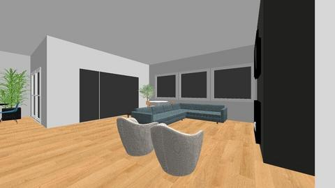Ashley_Hollie Living Room - Living room - by liveaccordingly