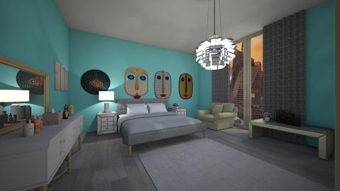 ny - Glamour - Bedroom - by Ritus13