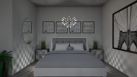 Grey Apartment 4 - Bedroom - by millerfam