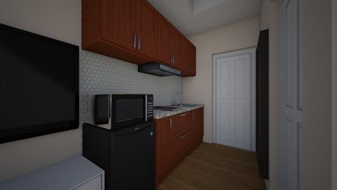 Condo_Kitchen - Kitchen - by ClaveriaCarla