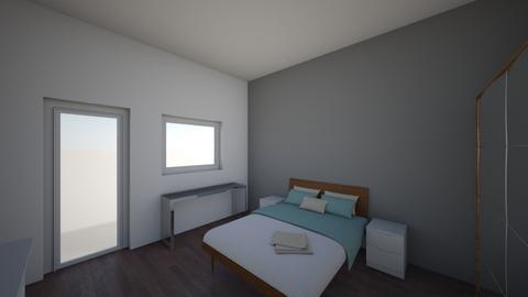 Schlafzimmer - Bedroom - by yetanotherusername
