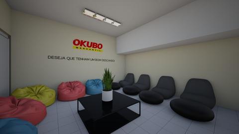 Sala Okubo - Modern - Living room - by Luana  Oliveira