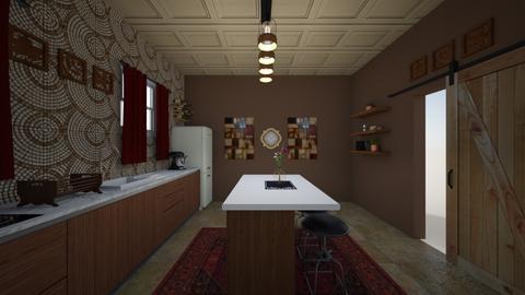 Warming Vibes Kitchen - Kitchen - by soulfulginger22