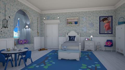 Boo - Classic - Kids room - by Elenn
