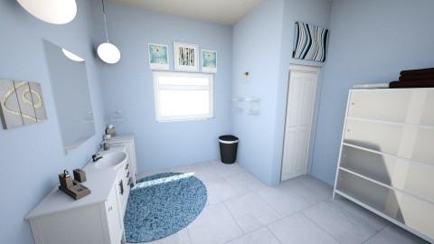 Upstairs Bathroom - by shelby_rinaldo_