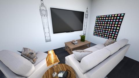 London apartment - Modern - Living room - by caydog