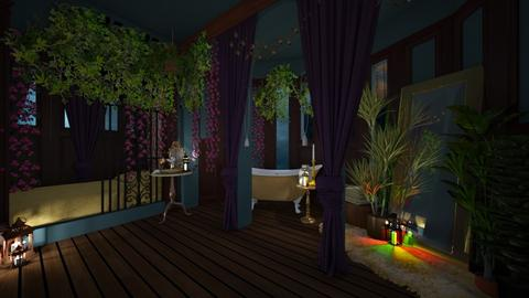 fairytale night - Vintage - Bedroom - by donella