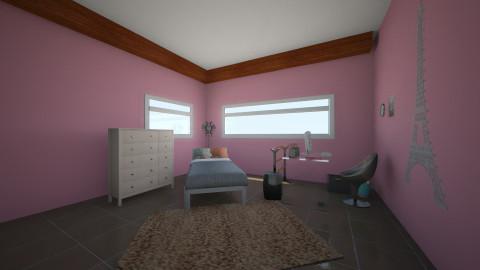 first - Feminine - Bedroom - by powersgal