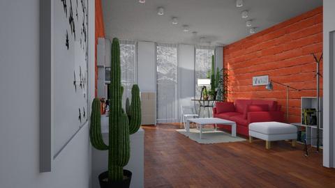 Template room - Living room - by BortikZemec