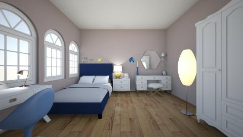 BLUE BEDROOM - by rachelcassy