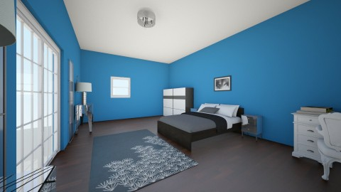 BLUE PASSION - Bedroom - by Dorotea Tea Grkovik