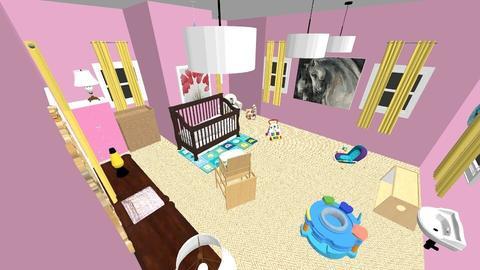 Blush Baby - Kids room - by MythicalUnicorn