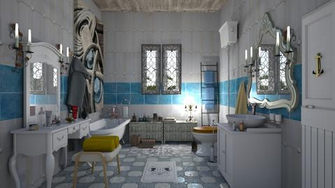bathroom retro - Retro - Bathroom - by nat mi