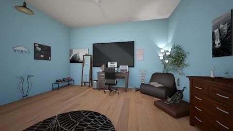 my blue room - Bedroom - by Heather Reynolds