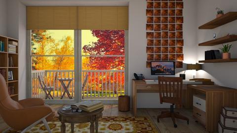 Autumn Office - Office - by kelseyleigh3