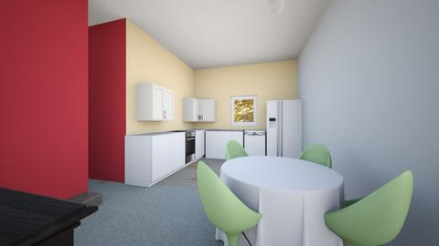 alto upstairs kit area - Kitchen - by JeAnna M Lewis Stalcup
