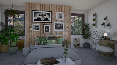Urban Jungle Bedroom - Bedroom - by JM Krab