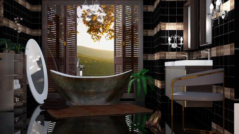 M_Three Bs - Bathroom - by milyca8