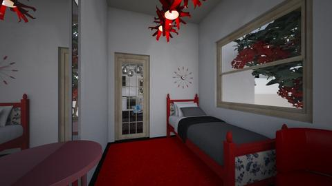 simple house bedroom - Modern - Bedroom - by Brina Yunio