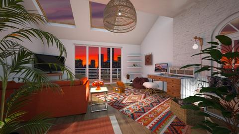 bohemian apartment - by thompsoni