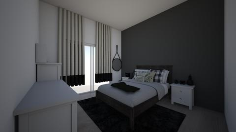 gothish bedroom idea c - Modern - Bedroom - by jade1111