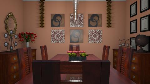 Dining Room - Modern - Dining room - by kristenaK