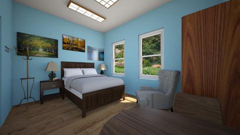 Single Rehab Bedroom - Bedroom - by SammyJPili