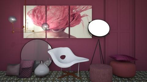 Aubergine - Eclectic - Living room - by esmeegroothuizen