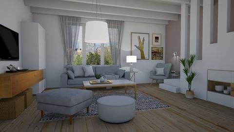 Town home - Living room - by Tuija