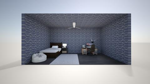 bedroom1 - Modern - Bedroom - by non_existy
